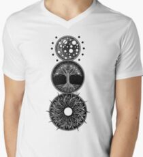 EP. MOON / LIFE / SUN Men's V-Neck T-Shirt