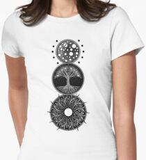 EP. MOON / LIFE / SUN Women's Fitted T-Shirt