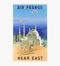 Air France Near East Photographic Print