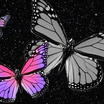 Butterflies at Night by butterflykate