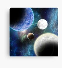Chilled Expanse Canvas Print