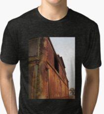 Rusty caboose Tri-blend T-Shirt