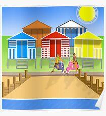 2017 Square Kent Riviera Tankerton Poster