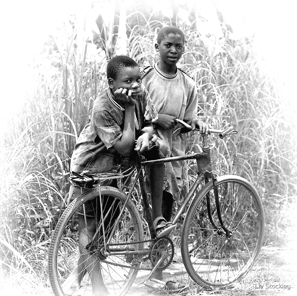 African youth by Liv Stockley