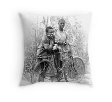 African youth Throw Pillow