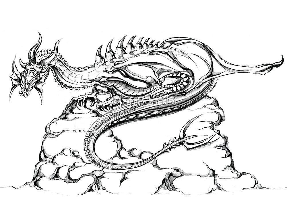 Sleeping Dragon by Matt83artist