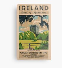 Ireland Land of Romance Metal Print