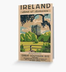 Ireland Land of Romance Greeting Card