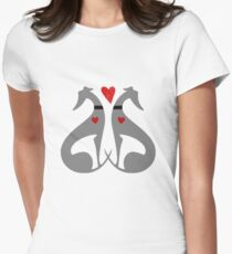 Italian Greyhound Dog Women's Fitted T-Shirt