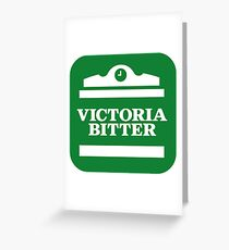victoria bitter Greeting Card