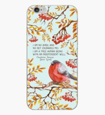 Jane Eyre Quote iPhone Case