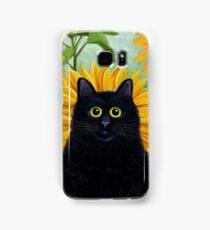 Dan de Lion with Sunflowers Samsung Galaxy Case/Skin