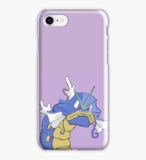 Gyarados with a closed mouth iPhone Case/Skin