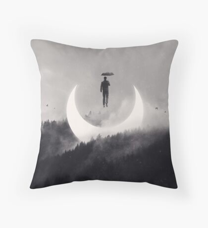 Chasing the Light Throw Pillow