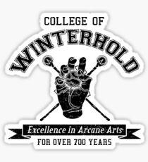 Winterhold College Sticker