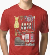 La La Land Illustration Jazz Saxophone Music Musical  Tri-blend T-Shirt