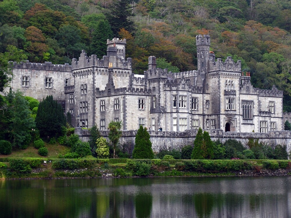 Kylemore Abbey Galway by MalMcC