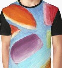 Psychedelic Candy - Abstract Oil Pastel Painting No.2 Graphic T-Shirt