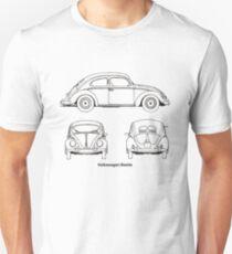 VW Beetle classic car T-Shirt