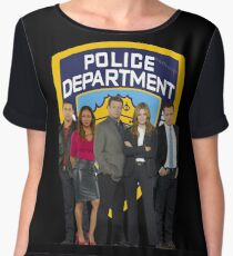 12th Precinct Team Women's Chiffon Top