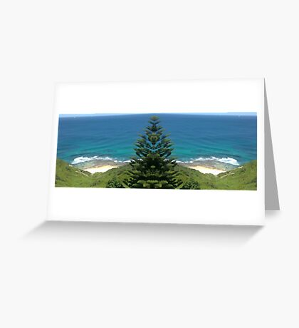 Super Sea Shorebreak Greeting Card