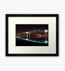 Gate Way Bridge Framed Print
