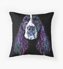 Space-springer Throw Pillow