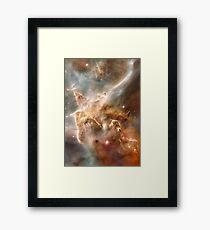 Pearl Galaxy Framed Print