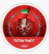 Blason de faction Bandit - Team O.N.U Sticker