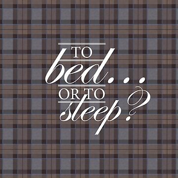 To bed or to sleep 4 by laurathedrawer