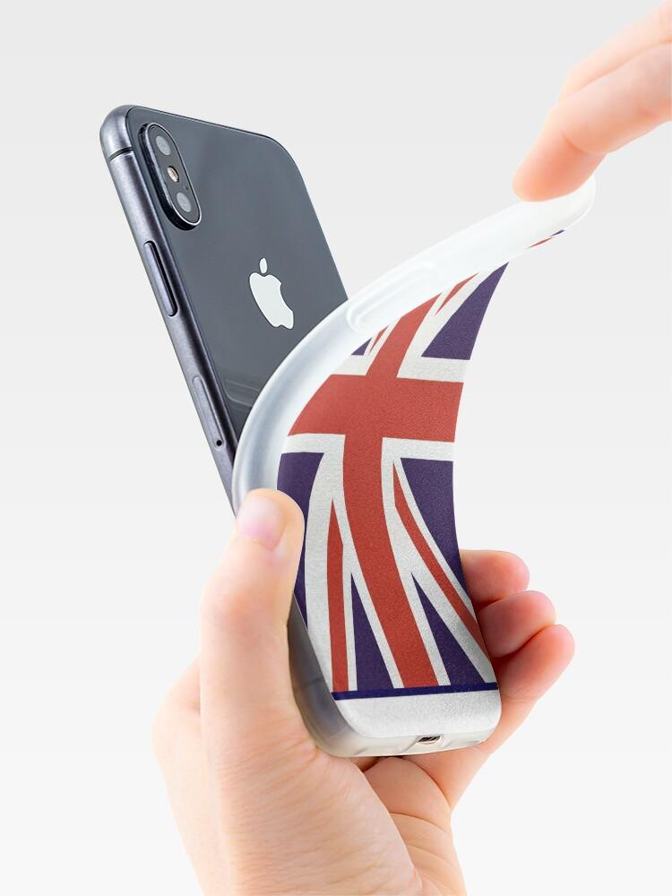 Vista alternativa de Vinilos y fundas para iPhone Bandera de Union Jack