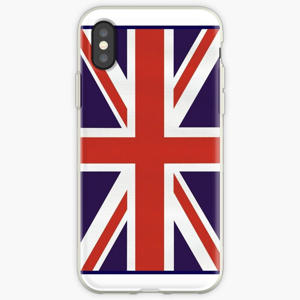 Bandera de Union Jack Vinilos y fundas para iPhone