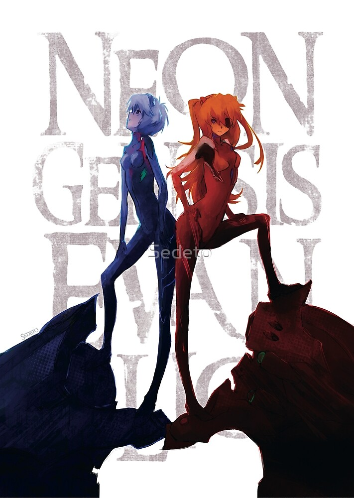 « Evangelion - Asuka and Rei (movie ver.) » par Sedeto