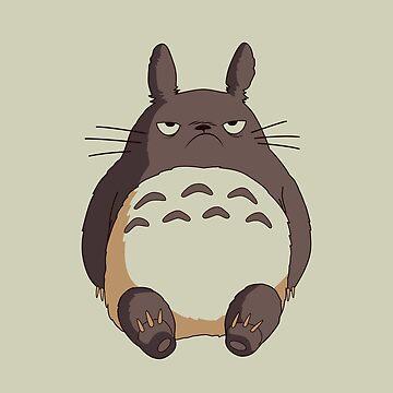 Grumpy Totoro by telurico