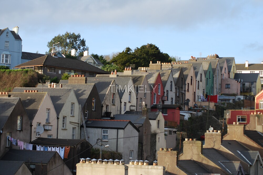 STEPING  HOUSES COBH by TIMKIELY