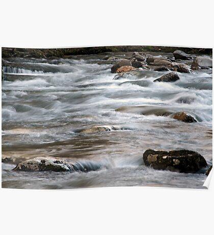 River Rapids Poster