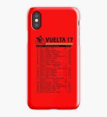 Vuelta a Espana 2017 iPhone Case/Skin