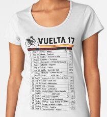 Vuelta a Espana 2017 Women's Premium T-Shirt