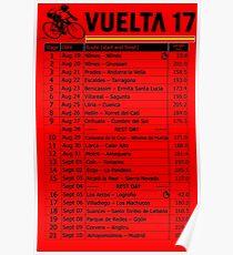 Vuelta a Espana 2017 Poster