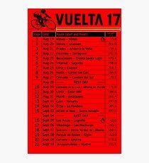 Vuelta a Espana 2017 Photographic Print