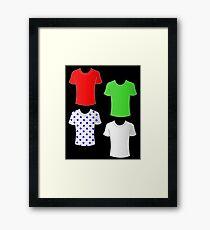Vuelta a Espana shirts Framed Print