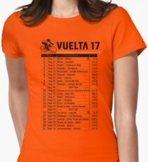 Vuelta a Espana 2017 Womens Fitted T-Shirt