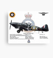 Boulton Paul Defiant Mk I Canvas Print