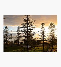 Port Macquarie sunrise  Photographic Print