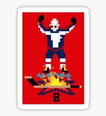8-Bit Ovi Sticker