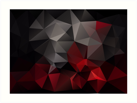 Quot Abstract Background Of Triangles Polygon Wallpaper In