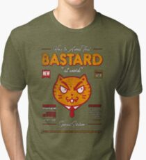 Avoid That Bastard at Work Magazine Tri-blend T-Shirt