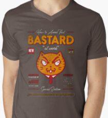 Avoid That Bastard at Work Magazine Men's V-Neck T-Shirt