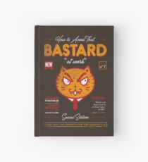 Avoid That Bastard at Work Magazine Hardcover Journal