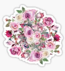 Bouquet of flower - wreath Sticker
